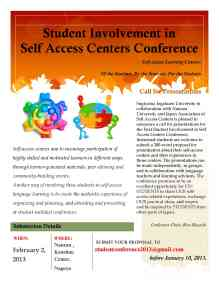 SISAC Conference Flyer