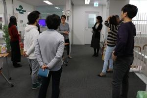 Chiba Uni SAC visit