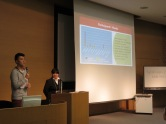 Kodai & Mika, students from Kyoto University of Foreign Studies