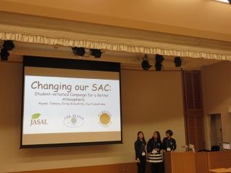 Ayumi, Erina & Yui from e-space, Konan Women's University