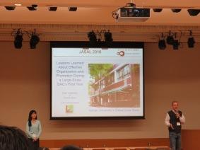 Shari Yamamoto & Thomas Mach from Konan University